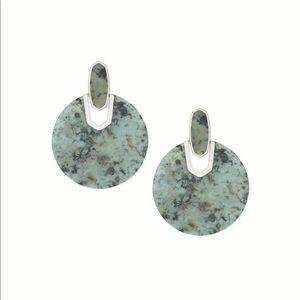 Kendra Scott Didi Silver Statement Earrings